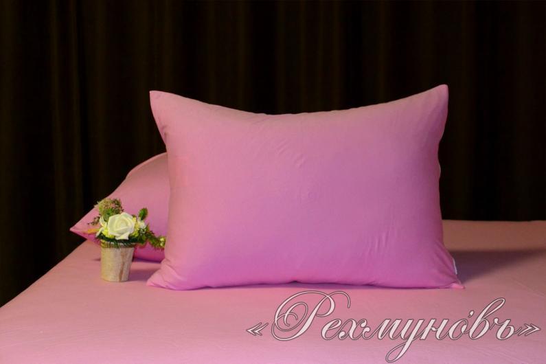 Купить розовые трикотажные наволочки на молнии оптом