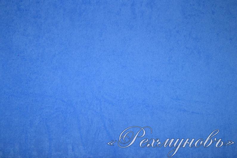 Махровая простынь на резинке «Голубая»
