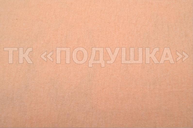 Персиковый трикотажный набор (2 наволочки + простынь)