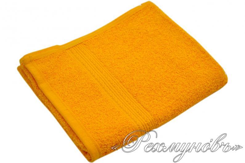 Купить оранжевое махровое полотенце оптом
