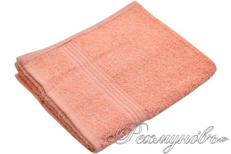 Купить персиковое махровое полотенце оптом