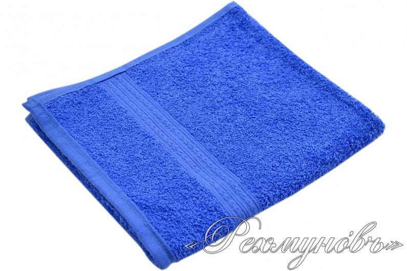 Купить голубое махровое полотенце оптом