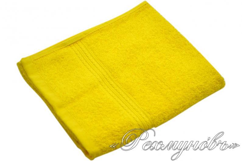 Купить желтое махровое полотенце оптом