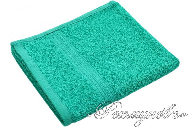 Купить бирюзовое махровое полотенце оптом