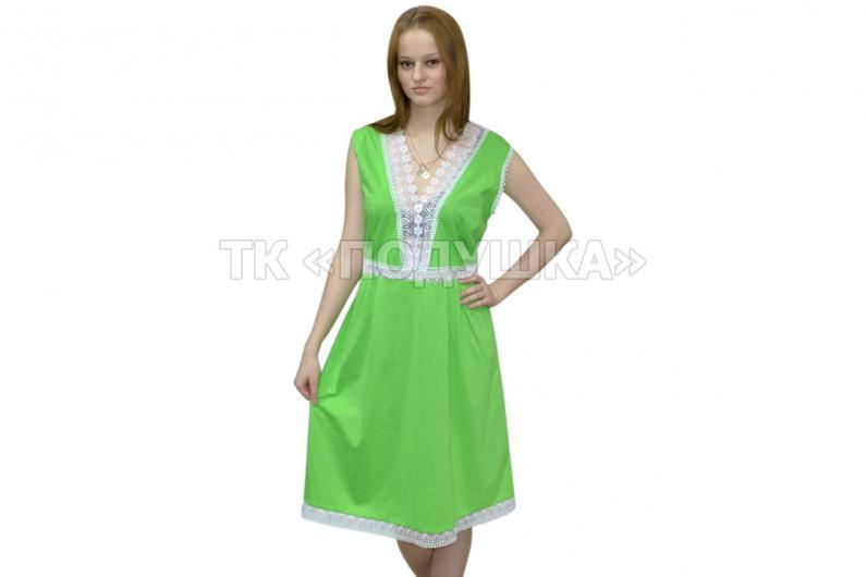 Купить зеленую ночную сорочку «Ирина»
