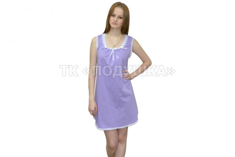 Купить фиолетовую ночную сорочку «Татьяна»