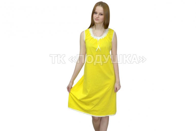 Купить желтую ночную сорочку «Татьяна»