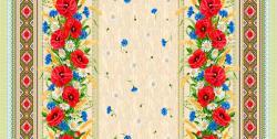 Скатерть из рогожки (модель: 18752-1)