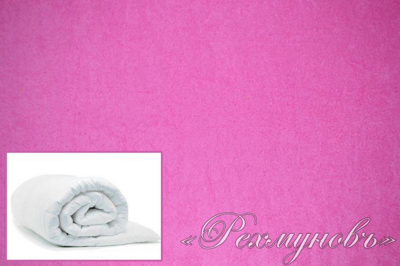 Купить розовый махровый пододеяльник на молнии оптом
