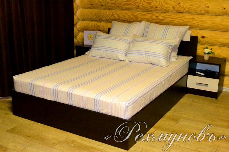 Купить льняной постельный набор (2 наволочки + простынь) оптом