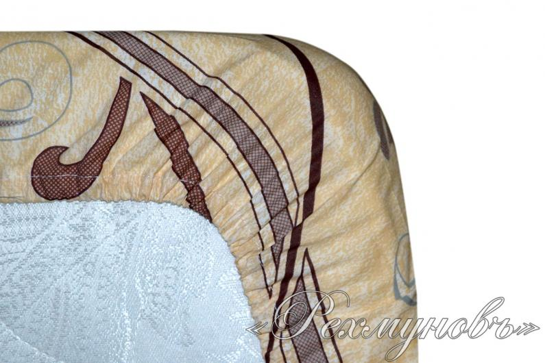 Поплиновая простынь на резинке «Варьете - основа»