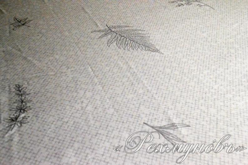 Простынь сатин на резинке «Форест - компаньон»